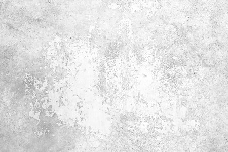 Foto de Grunge concrete wall white and grey color for texture background - Imagen libre de derechos