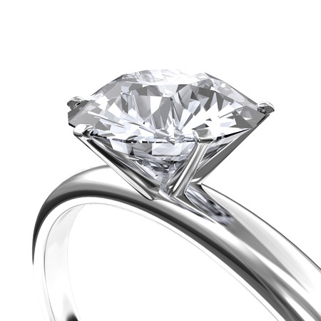 Photo for Image diamond ring - Royalty Free Image