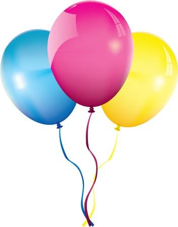 Illustration pour balloons - image libre de droit