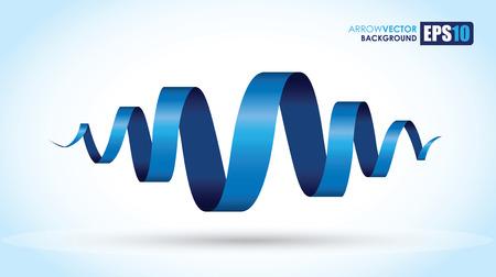 Ilustración de blue spiral background - Imagen libre de derechos