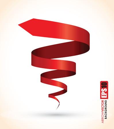 Ilustración de red spiral abstract object - Imagen libre de derechos