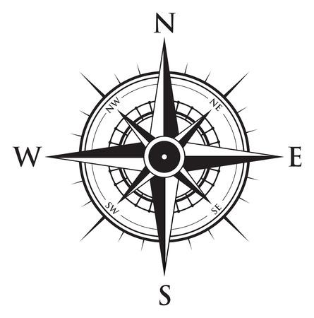 Ilustración de compass background - Imagen libre de derechos