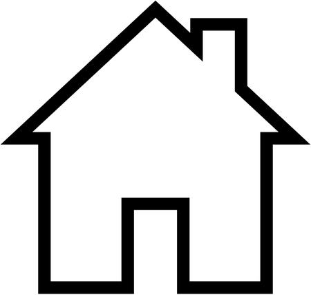 Ilustración de House symbol - Imagen libre de derechos