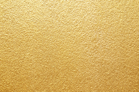 Photo for Shiny yellow leaf gold foil texture background - Royalty Free Image
