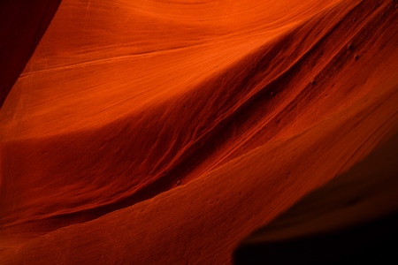 Photo pour Orange Rock Waves in Antelope Canyon, Arizona, USA - image libre de droit