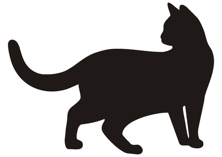 Ilustración de cat - Imagen libre de derechos