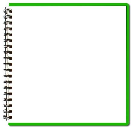green sketch book