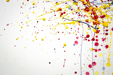Photo for Abstract colorful  Splash watercolor background - Royalty Free Image