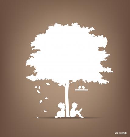 Illustration pour Vector Decorative Wall Stickers For House Interiors.  - image libre de droit