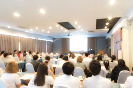 Foto de Abstract blur Business Conference and Presentation - Imagen libre de derechos
