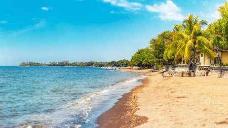 Photo for Beach at Lovina, Bali, Indonesia - Royalty Free Image