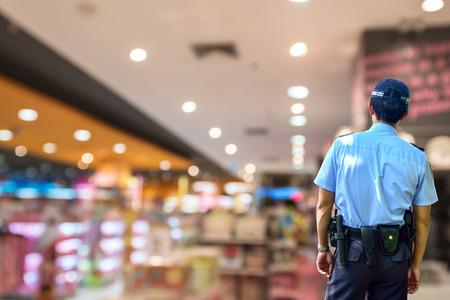 Photo pour Security guard - image libre de droit