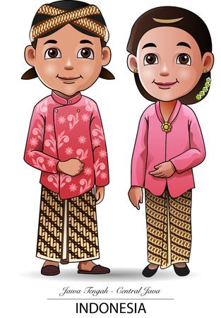 Illustration pour Vector illustration, Javanese traditional cloth - image libre de droit