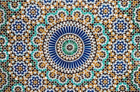 Photo for moroccan tile background - Royalty Free Image