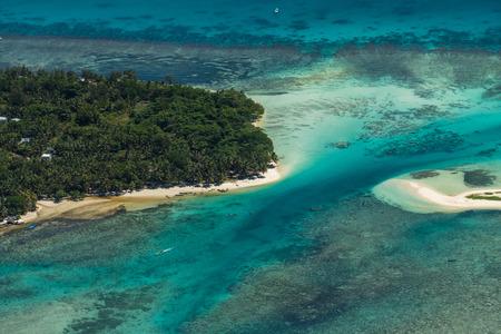 Foto de Aerial view of Sainte Marie island, Madagascar - Imagen libre de derechos