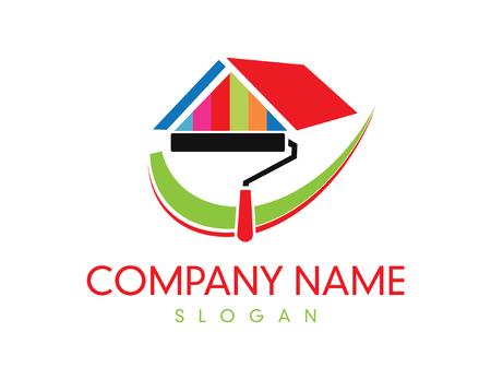 Ilustración de Paint Company logo - Imagen libre de derechos