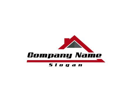 Illustration for real estate logo 4 - Royalty Free Image