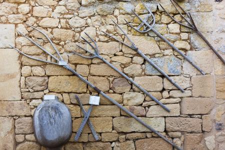 Photo pour Maison forte de Reignac, Dordogne, Nouvelle Aquitaine, France - image libre de droit