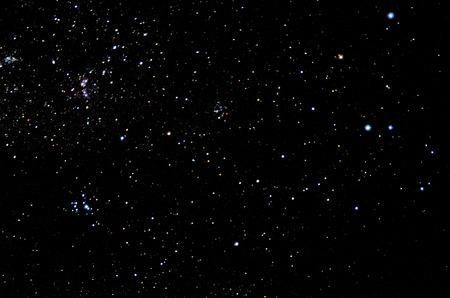 Foto de Stars and galaxy sky background - Imagen libre de derechos