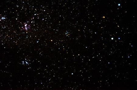 Foto de Stars and galaxy space sky background - Imagen libre de derechos