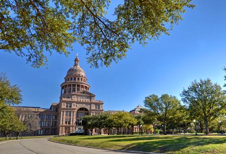 Foto de Texas State Capitol in Austin, TX - Imagen libre de derechos
