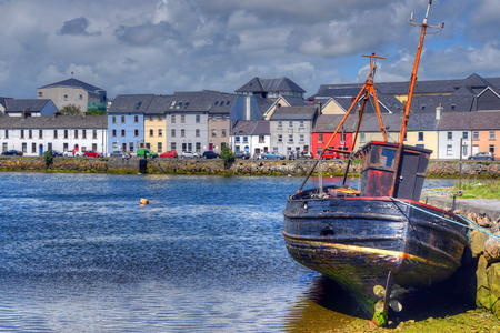 Photo for The Claddagh Galway in Galway, Ireland. - Royalty Free Image