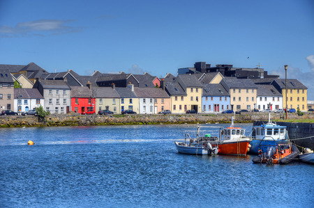 Foto de The Claddagh Galway in Galway, Ireland. - Imagen libre de derechos