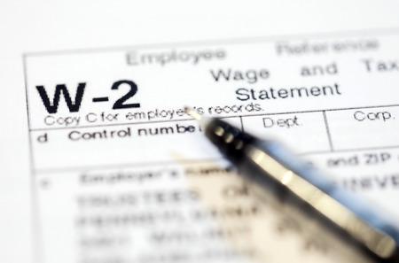 Foto de United States tax forms for the IRS. - Imagen libre de derechos