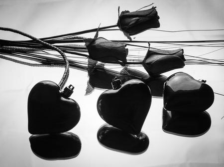 Foto de Hearts and flowers - Imagen libre de derechos