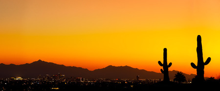 Photo for Arizona Sunset - Royalty Free Image