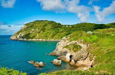 Photo pour The beautiful coast of Dongyin Township,Matsu .Taiwan - image libre de droit