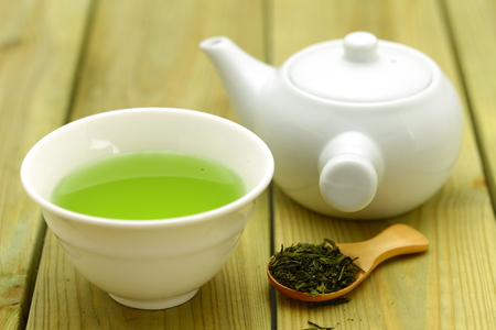 Photo for Jananese Green Tea - Royalty Free Image