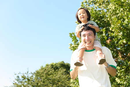 Foto per Father and daughter - Immagine Royalty Free
