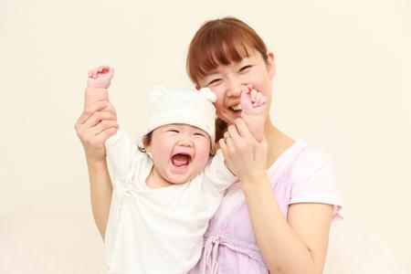 Foto de mom and baby - Imagen libre de derechos