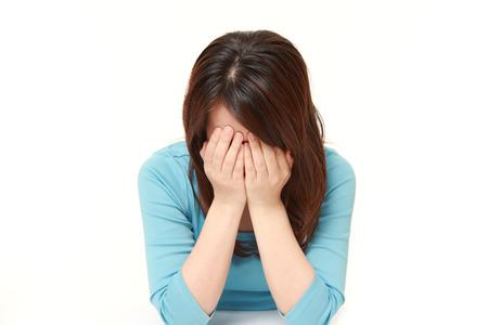 Foto de sad woman - Imagen libre de derechos