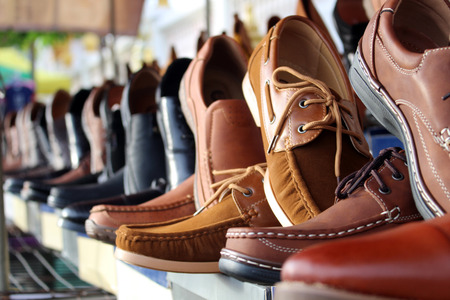 Photo for shoes leather background - Royalty Free Image