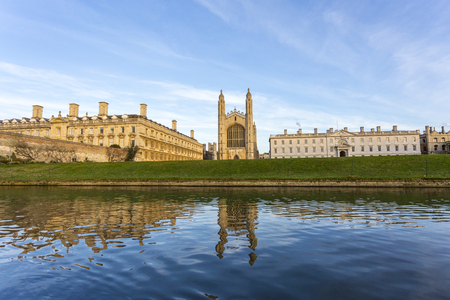 Foto de University of Cambridge is a collegiate public research university in Cambridge, England. Founded in 1209 and granted a royal charter by King Henry III in 1231, Cambridge is the second-oldest university in the English-speaking world - Imagen libre de derechos