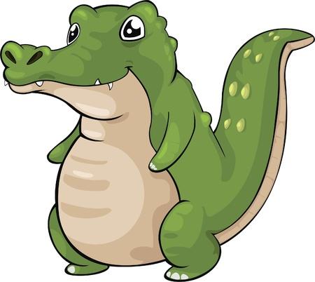 illustration Crocodile