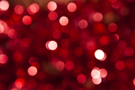 Photo for Defocused abstract red christmas background  - Royalty Free Image