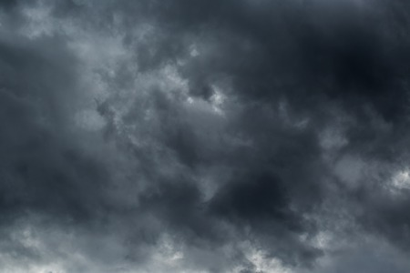Photo for Dark clouds before a thunder-storm - Royalty Free Image