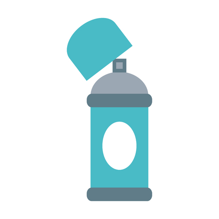 Illustration for Open aerosol can icon - Royalty Free Image