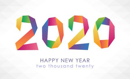 Foto für Happy New Year 2020 - Lizenzfreies Bild