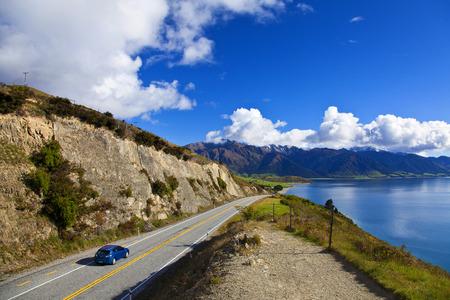 Photo pour road trip in New Zealand - image libre de droit