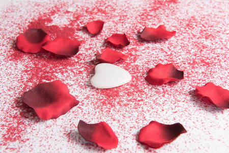 Photo pour heart for valentines \ 'day - image libre de droit