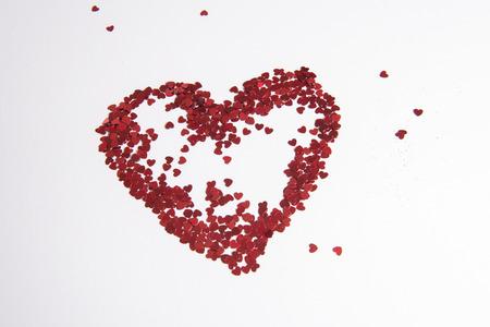 Photo pour Heart of hearts as love sign - image libre de droit