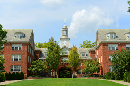 Photo pour Wayland Hall in Brown University, Providence, Rhode Island, USA - image libre de droit