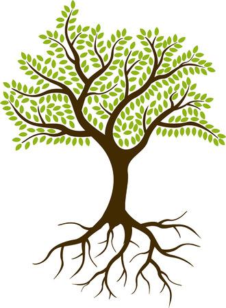 Ilustración de tree silhouette - Imagen libre de derechos