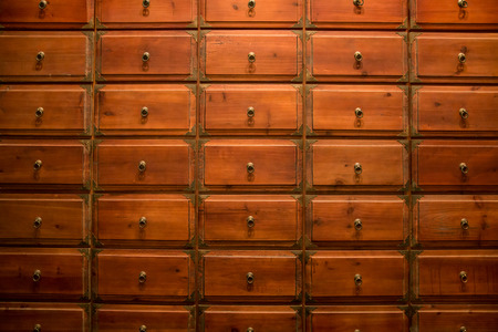 Photo for Chinese medicine drawer - Royalty Free Image