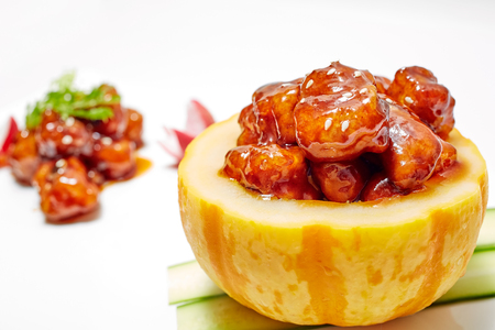 Photo for Sweet and Sour Pork - Royalty Free Image