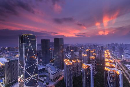 Photo pour Xiamen cityscape - image libre de droit